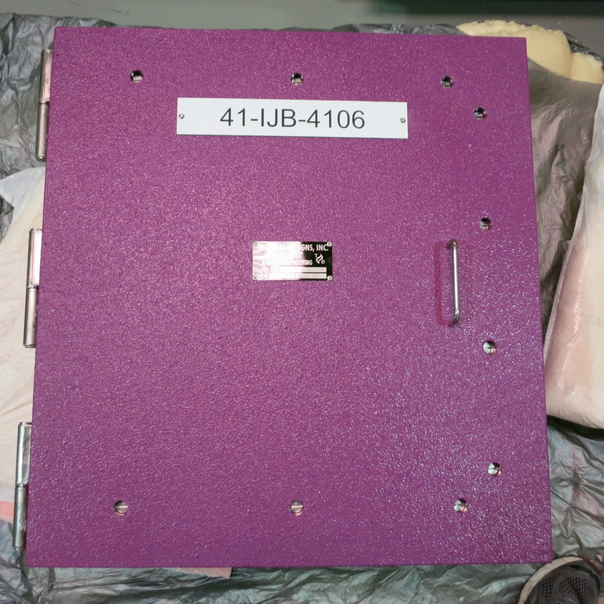 custom control box, fire rated